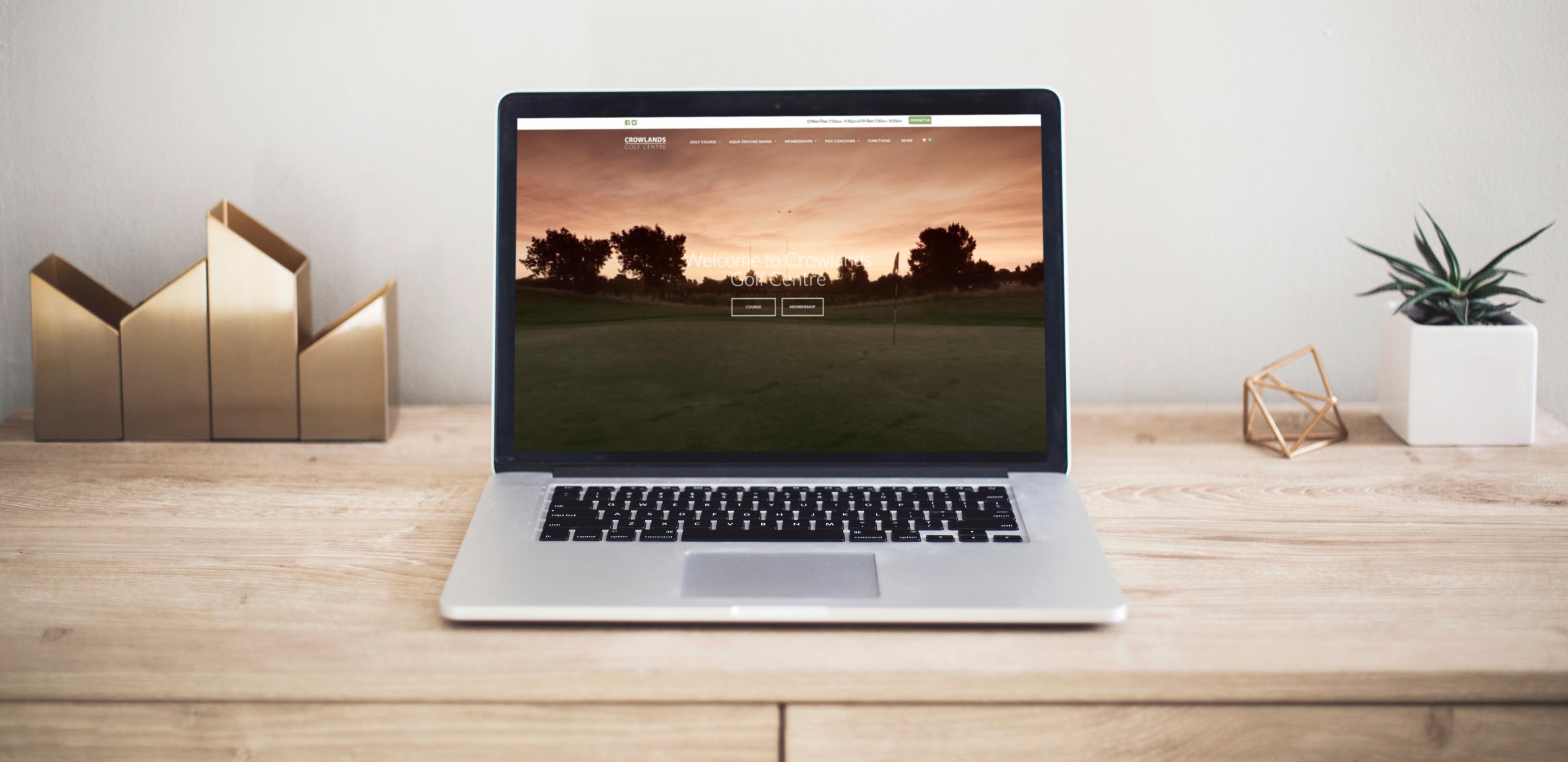 Golf Course Website Designer