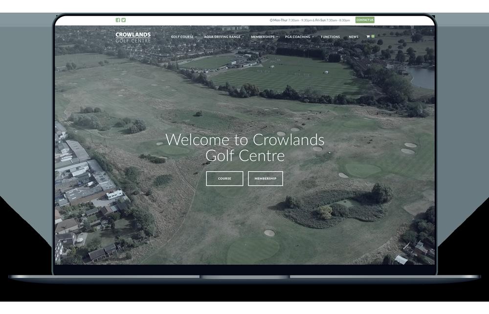 Golf Course Website Designs